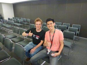 David Kong and Edgar Vera, the mastermind of Japonawa