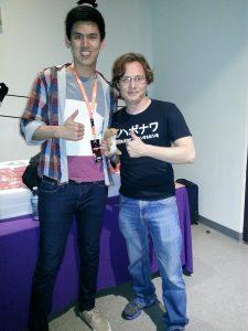 With Edgar Vera