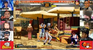 Current KOF98UMFE online tournament China vs Taiwan