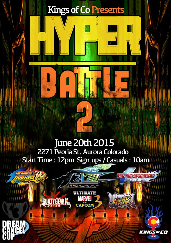 Hyper Battle 2 Flyer