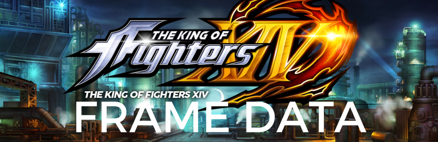 Massive #KOFXIV Frame Data Update For Version 2.01 Features Added ...