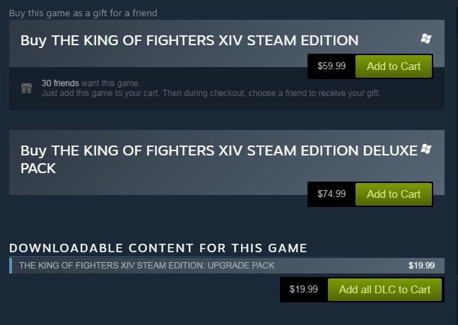 King Of Fighters Xiv Steam Edition Review Dream Cancel