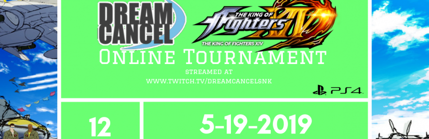 Check out The Dream Cancel #KOFXIV Online Tournament #12